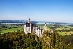 Castello famoso del Neuschwanstein in Germania Fotografia Stock Libera da Diritti