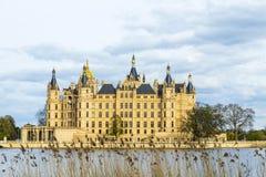 Castello famoso di Schwerin, Germania immagine stock