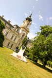 Castello famoso in Keszthely Fotografia Stock