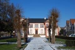 Castello Fechenbach in Dieburg Fotografie Stock Libere da Diritti