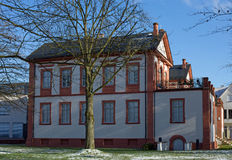 Castello Fechenbach in Dieburg Immagine Stock Libera da Diritti
