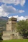 Castello Fenis fotografie stock libere da diritti