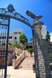 Castello Flotta is gesitueerd dichtbij Ionische kust Stock Foto