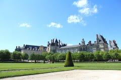 Castello Fontainebleau, Francia fotografie stock