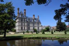 Castello francese Immagini Stock Libere da Diritti