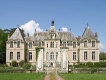 Castello francese classico Fotografia Stock