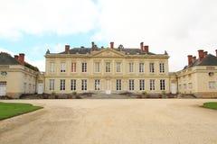 Castello francese a Craon Fotografia Stock Libera da Diritti