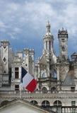 Castello francese di rinascita di Chambord Fotografia Stock