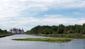 Castello francese di rinascita di Chambord Fotografie Stock Libere da Diritti
