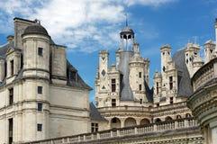 Castello francese di rinascita di Chambord Fotografia Stock Libera da Diritti