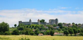 Castello francese nella Dordogna Immagine Stock