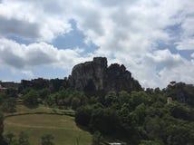 Castello in Francia fotografie stock libere da diritti