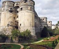 Castello in Francia Immagini Stock Libere da Diritti