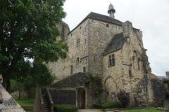 Castello in Francia fotografie stock