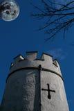 Castello frequentato Immagine Stock Libera da Diritti