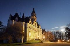 Castello frequentato - Slovacchia immagine stock