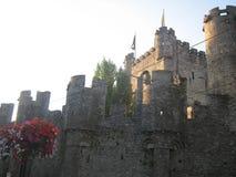 Castello in Gent immagine stock