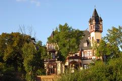 Castello in Germania Fotografie Stock