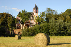 Castello in Germania - Schöneck Fotografie Stock