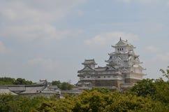 Castello Giappone di Himeji Immagini Stock Libere da Diritti