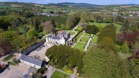 Castello & giardini di Huntington Clonegal contea Carlow l'irlanda immagine stock libera da diritti