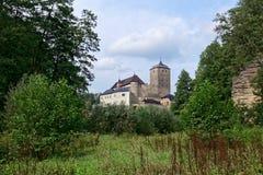 Castello gotico di Kost Repubblica ceca Immagini Stock Libere da Diritti
