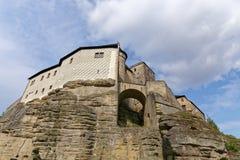 Castello gotico di Kost Repubblica ceca Fotografia Stock Libera da Diritti