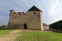 Castello gotico di Kost Repubblica ceca Fotografie Stock Libere da Diritti
