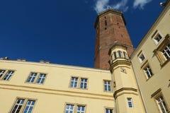 Castello gotico in Legnica 2 Immagine Stock
