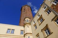 Castello gotico in Legnica 2 Fotografie Stock Libere da Diritti