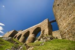 Castello gotico in Velhartice, Repubblica ceca Fotografie Stock Libere da Diritti