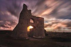 Castello Gower di Pennard Fotografia Stock Libera da Diritti