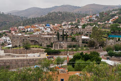 Castello Guanajuato Messico del Santa Cecilia Fotografie Stock