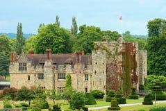 Castello Hever Inghilterra di Hever Fotografie Stock Libere da Diritti