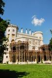 Castello Hluboka nad Vltavou Immagine Stock Libera da Diritti
