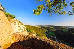 Castello Hohen Gundelfingen fotografie stock