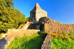 Castello Hohen Gundelfingen fotografie stock libere da diritti