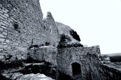 Castello Hohen Neuffen Immagine Stock