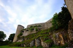 Castello Hohen Neuffen Fotografie Stock Libere da Diritti