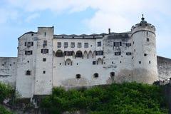 Castello Hohensalzburg Fotografie Stock