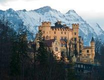 Castello Hohenschwangau Fotografia Stock Libera da Diritti