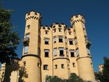 Castello Hohenschwangau, Germania Immagine Stock