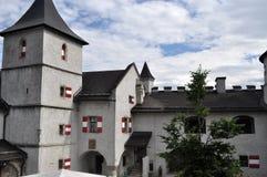 Castello Hohenwerfen, Austria Immagine Stock