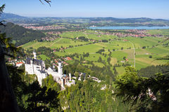 Castello il Neuschwanstein Fotografia Stock