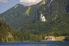 Castello il Neuschwanstein in Baviera fotografie stock