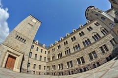 Castello imperiale a Poznan Immagini Stock
