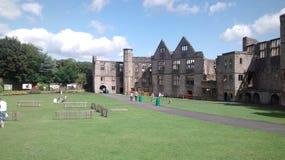 Castello inglese, Dudley a partire dall'ottavo secolo Fotografie Stock Libere da Diritti