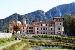 Castello in Italia Immagine Stock