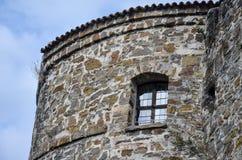 Castello in Italia Fotografia Stock
