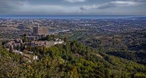 Castello italiano Fotografia Stock Libera da Diritti